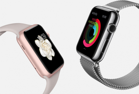 The new Apple Watch is made with an aluminum alloy body and ion-x glass to make the watch super strong. It has customizable colors and watch bands.