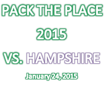 #7 Pack the Place at Hampshire High School