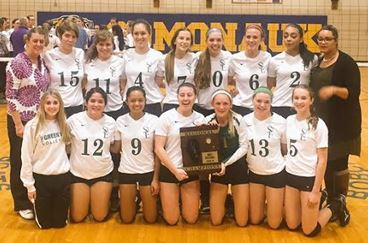 #10 Girls Volleyball Regional Champions