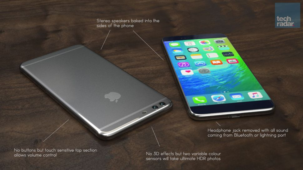 iPhone 7 concept art.