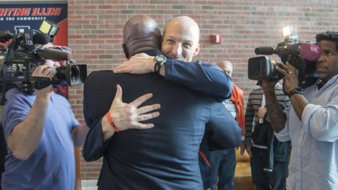 Basketball head coach John Groce and Lovie Smith look to restore Illini sports