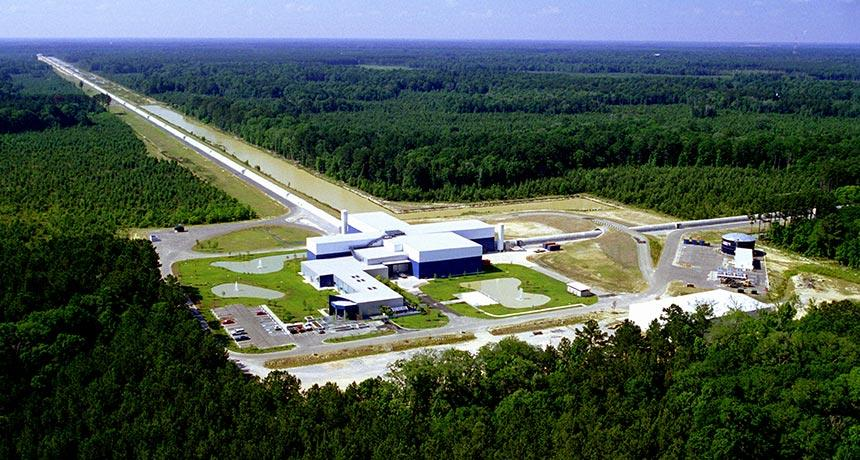 The LIGO device that helped scientists discover gravitational waves.