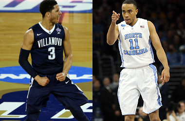 Josh Hart (3) and Brice Johnson (11) will both look to lead their teams to the ultimate goal, an NCAA Championship.