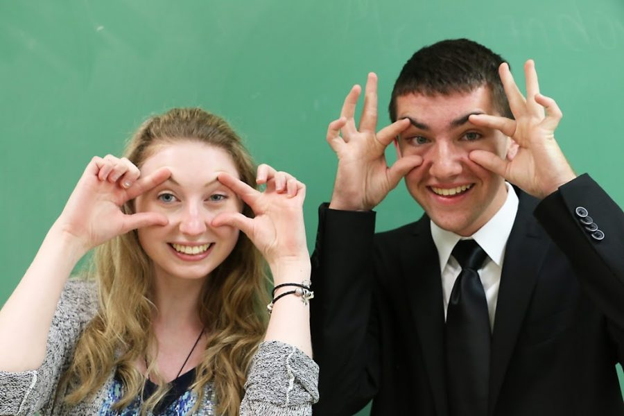 Best eyes: Kiley Knust and Alex Semler