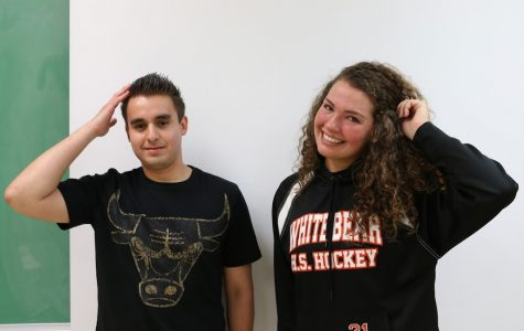Best hair: Chris Martinez and Mikaila DiCostanzo