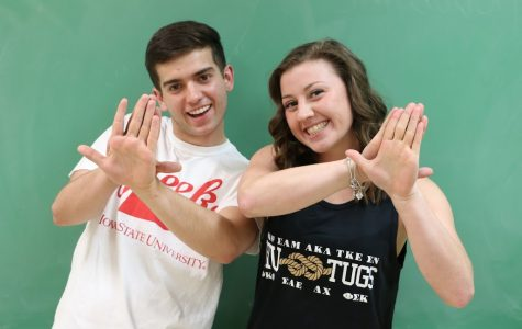 Most likely to join a fraternity/sorority: Nick Worrall and Gabriella Tripicchio