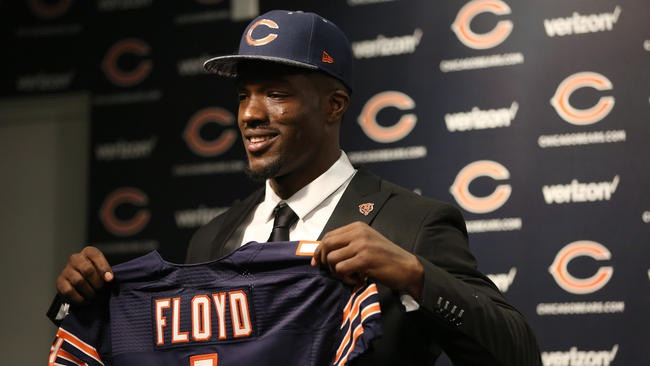 The Chicago Bears picked Leonard Floyd 9th overall