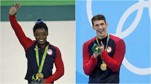 Simone Biles and Michael Phelps are two gold medal winners from the United States. Phelps has said he is retiring.