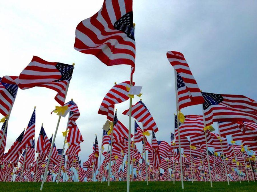 9/11 Field of Healing at Randall Oaks in Dundee