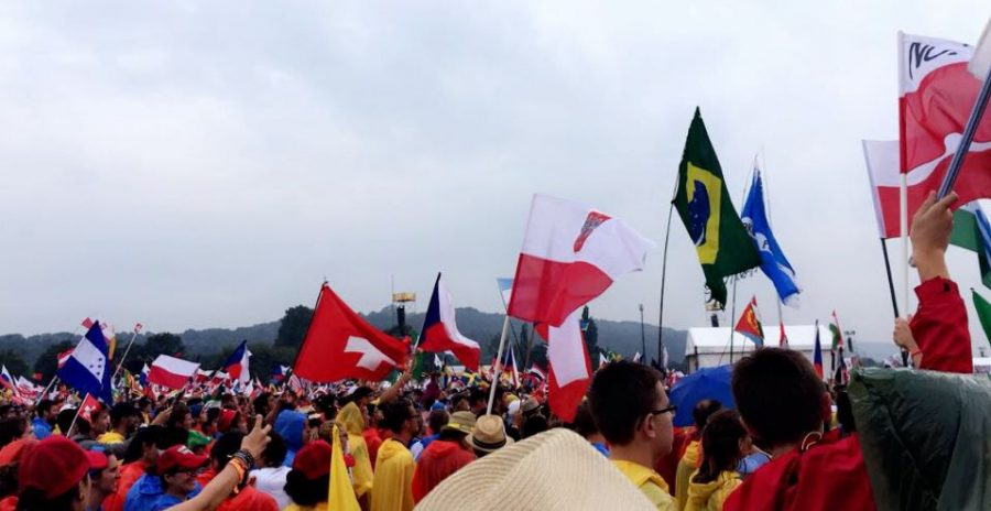 Over+187+countries+gathered+at+WYD.