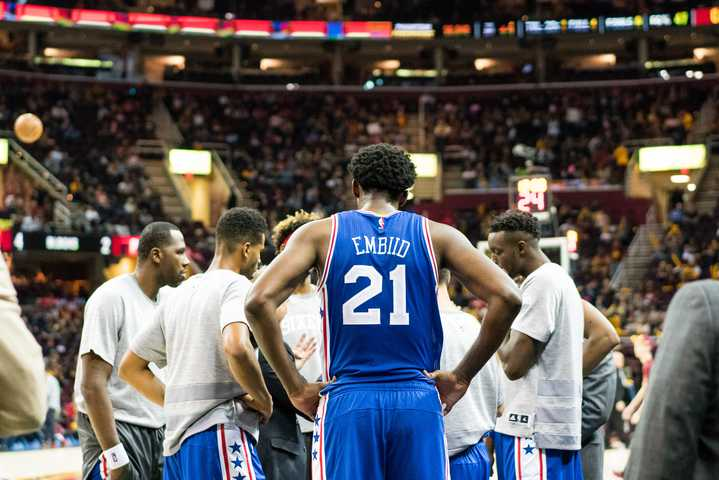 It%27s+only+preseason%2C+but+it%27s+still+incredibly+encouraging+to+see+Joel+Embiid+finally+play+a+game+of+basketball+in+a+Sixers+jersey.