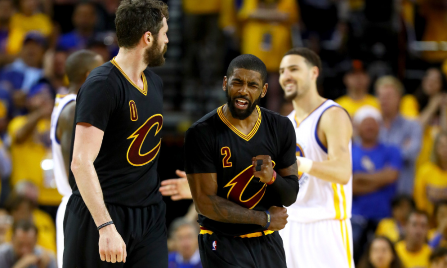 Kyrie Irving looks to build on his impressive summer.