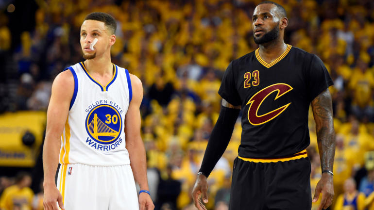 Stephen+Curry+and+LeBron+James+are+reason+enough+to+tune+into+the+Warriors+and+Cavs+games.