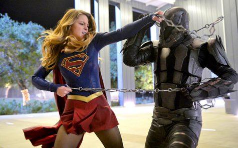 Supergirl vs. the Master Jailer. From Season 1, episode 14 of Supergirl