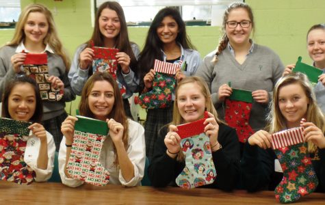 Students come together to help area children at Christmas