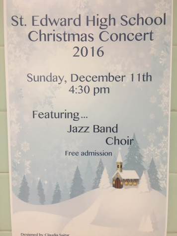 Details about the upcoming Christmas concert.