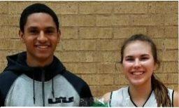 Maddie Spagnola and Kelvin Cortez score 1000