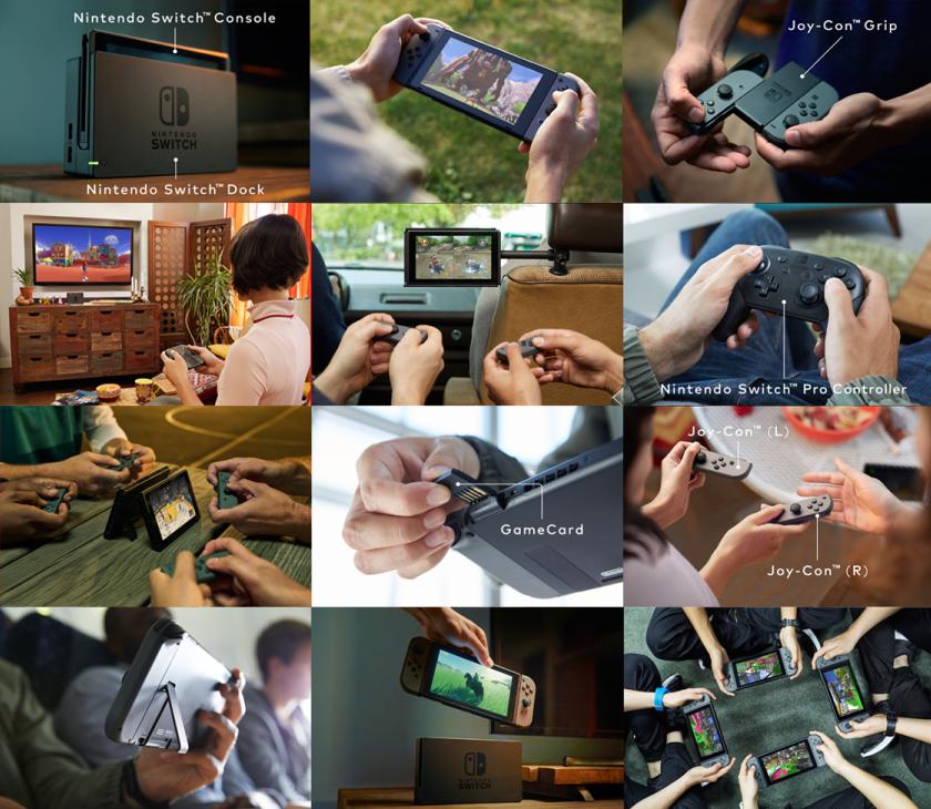 Nintendo Switch Console Configurations