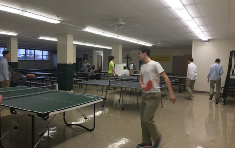 Ping Pong Bounces into St. Edward