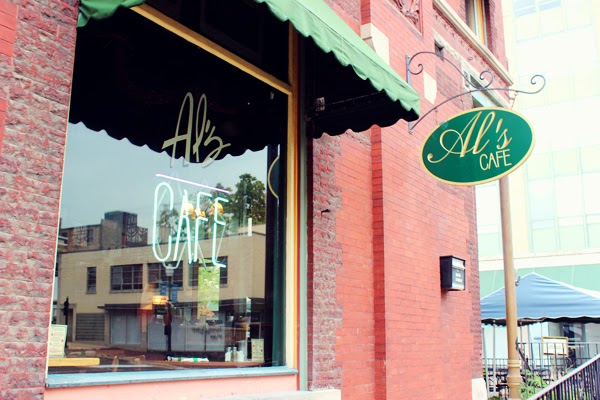 Al's Café downtown Elgin