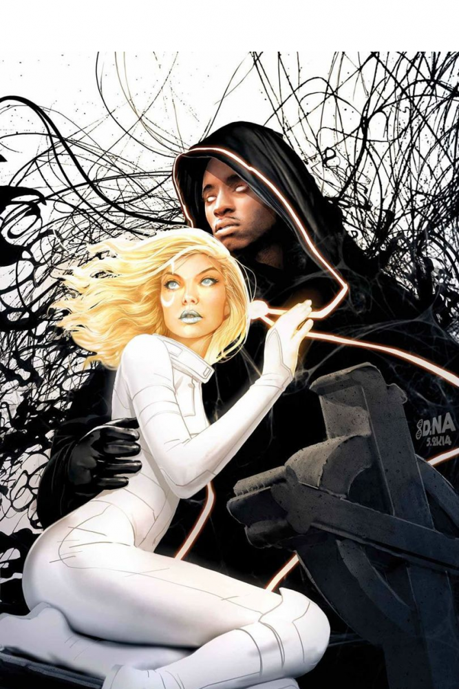 Official art for Marvel's other new superhero teen drama, 'Cloak and Dagger.'