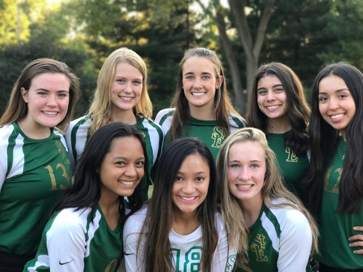2017-18 Greenwave Volleyball Seniors