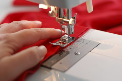 This picture is an example of a sewing style