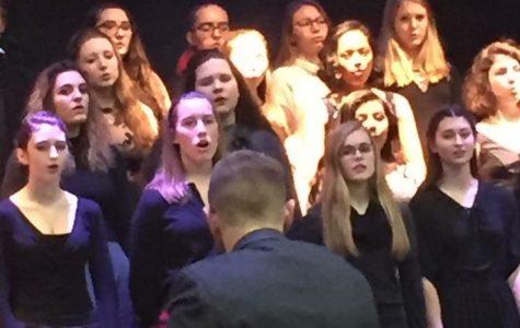 St. Edward's Choir directed by Mr. Jones