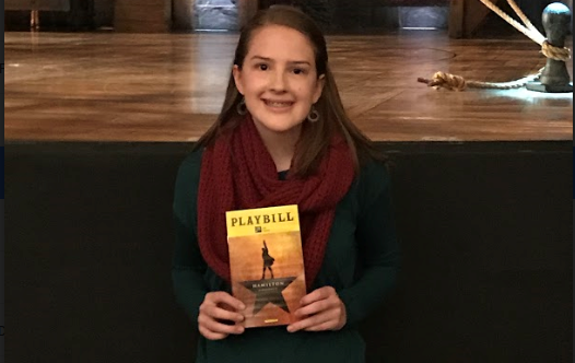 Meghan Driskell at Hamilton play.