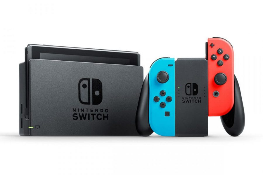 The+Nintendo+Switch+console