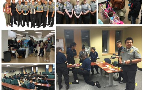 Teens that are part of The Explorer program