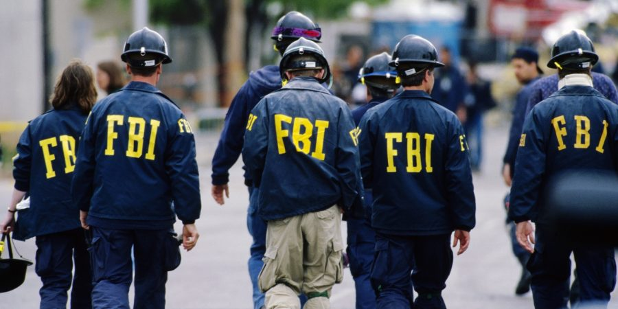FBI+special+agents+visit+the+site+of+the+Oklahoma+City+bombing.
