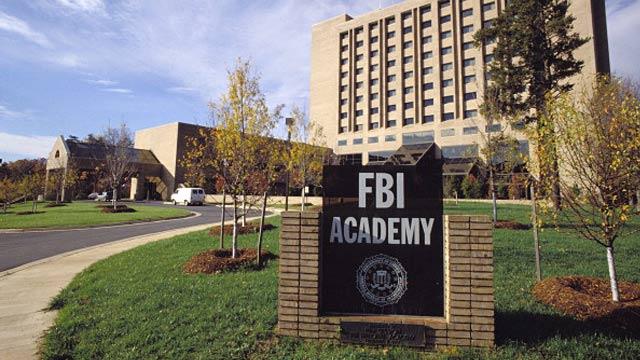 FBI Academy in Quantico, Virginia.