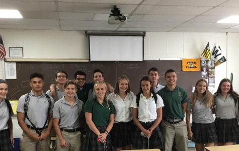 2018-19 Student Council members