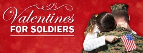 NHS Valentine's Day Card Making Event for Soldiers