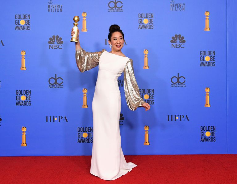 Sandra Oh makes history at 2019 Golden Globes