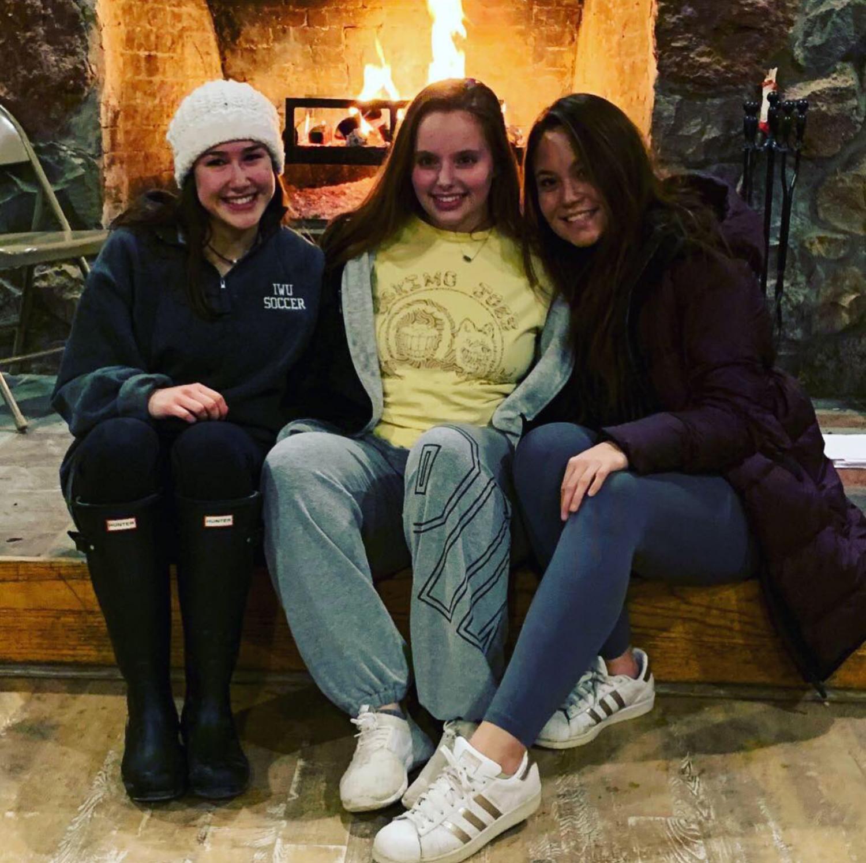 (Left to right) Rachel Martini, Rachel Hicks, Jessy Kramp