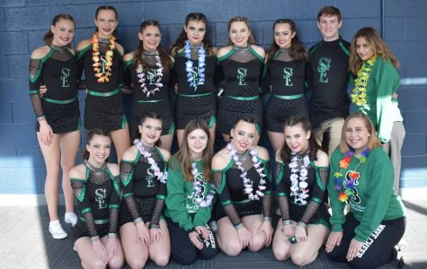 St. Edward cheer team makes it to state