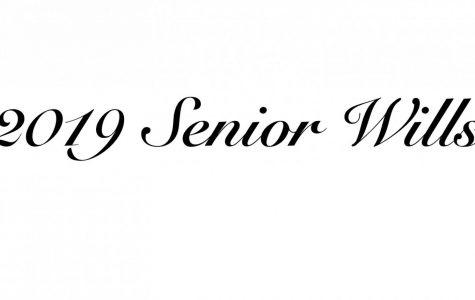2019 Senior Wills