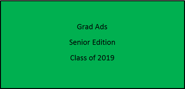 All Grad Ads for the Class of 2019