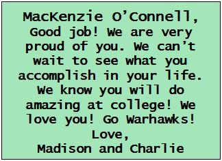 o'connel, Mackenzie 3