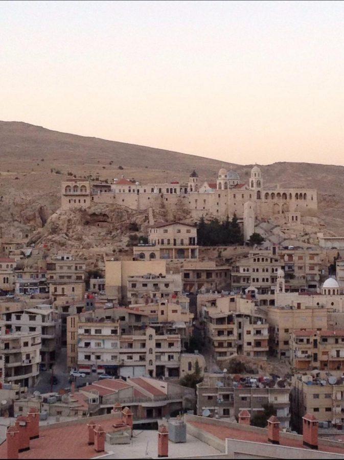 Michael Azar's home town of Saidnaya