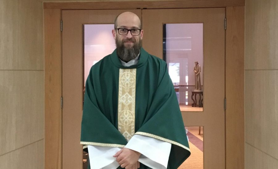 Priest sets inspiration for St. Edward