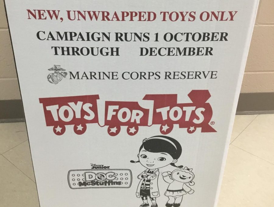 Toys+for+Tots+box+located+by+the+main+office.