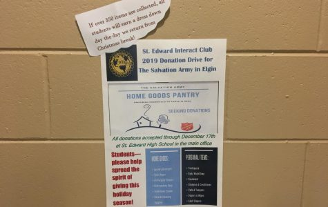 Interact Club hosting donation drive for Elgin Salvation Army