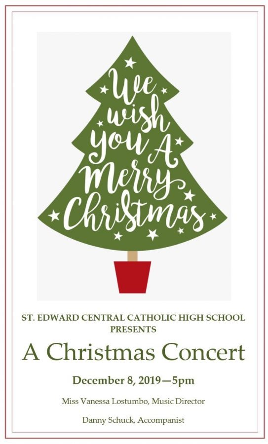 Come to the St. Edward Christmas Concert!