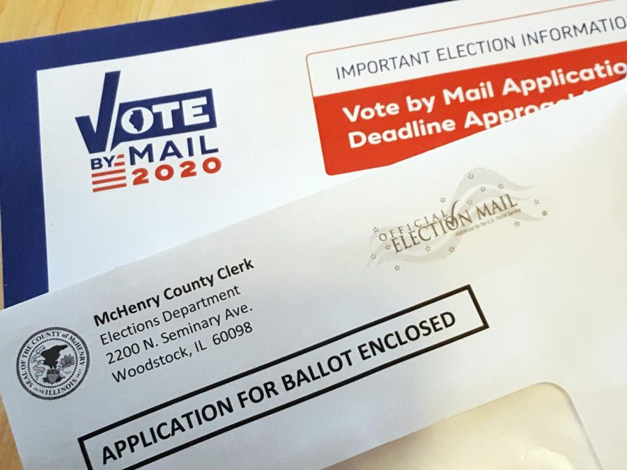 Is voting by mail a safe option?