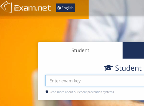 Some teachers are administering finals through online programs such as Exam.net