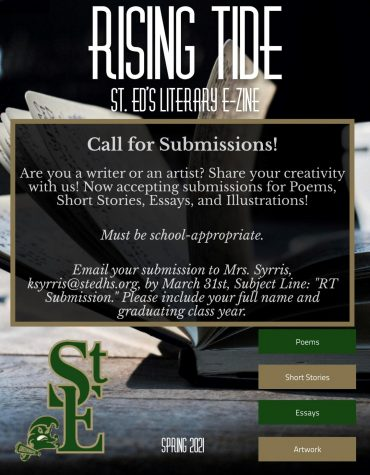 Calling all writers and artists: St. Edward's literary magazine is here!