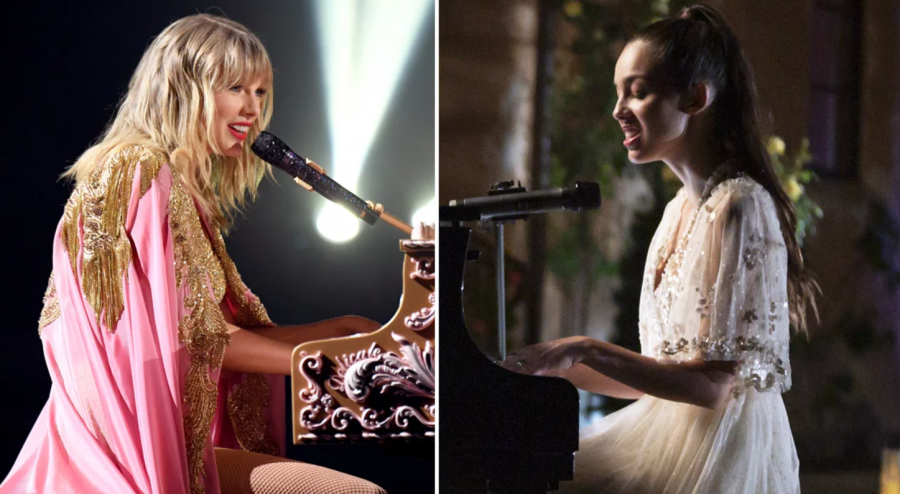 Taylor Swift and Olivia Rodrigo team up to co-write their new song 'Fake'